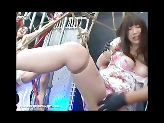 Extreme japanese bondage sex kaho and ayumi 2