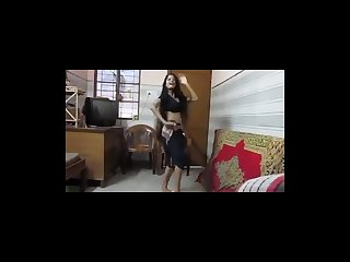 Sexy indian teen dancing