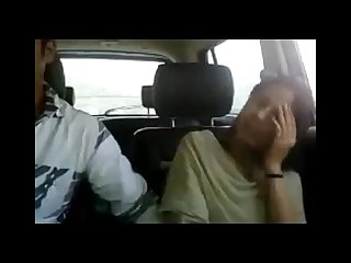 Pakistani couple dating in car