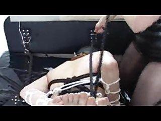 Femdom male bondage upscale