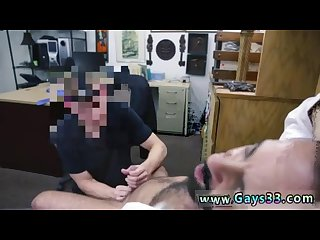 straight guys licking cock and pussy and gay blowjob in front of mummy