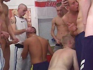 Scallyboy orgy