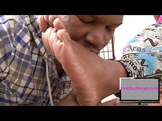 Black pashion ebony feet