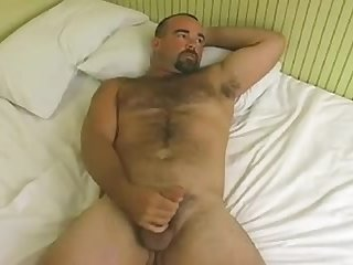 Aussie daddy brian jerk off bj and cum