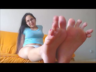 Asian feet Joi