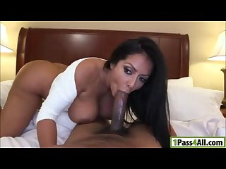 Busty latina hungry for dick