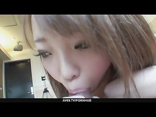 Horny Nana asano fucks until she S creampied