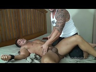 Gorgeous bodybuilder bound and tickled marky best