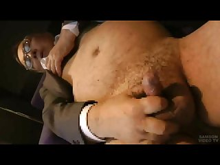 Japanese Chubby Daddy Fuck