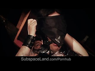 Slave swallow dominator s cum after he treats her bdsm bad