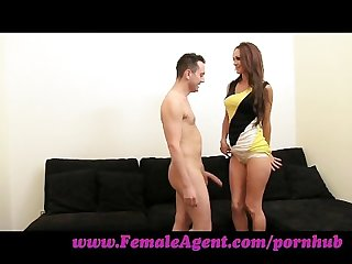Femaleagent well endowed frenchman