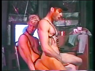 Leather sex club scene 5