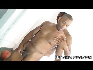 Nazman kane black man in sniffing jockstrap fetish with his bro