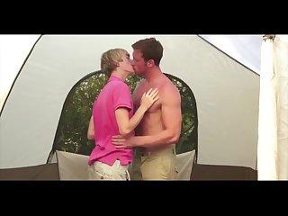 Jock fucks Twink in tent
