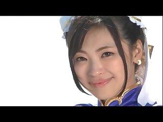 Chun li Cosplay Haruna Ayane GIGA GHOR-38-2