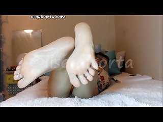 Ilse foot seduction