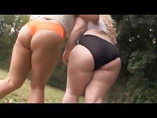 Bbw schoolgirls working out their asses