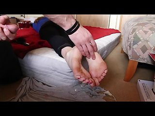 A naive innocent first time footgirl fantasy