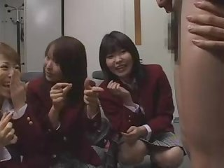 Japanese school girls and mean governess sph cfnm chicchai tiny