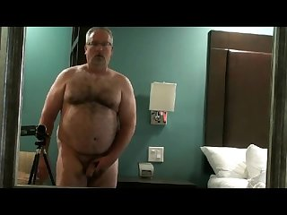 Jacking off in the hotel
