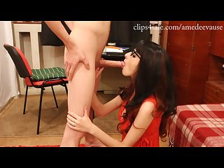 Amedee vause fuck doll deepthroat video