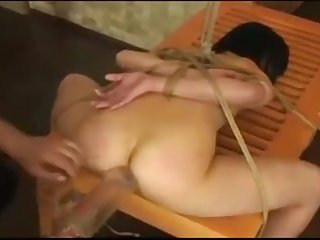Little japanese has her ass cleaned out