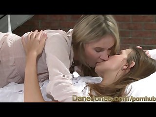 Danejones passionate lesbians exploring every inch together