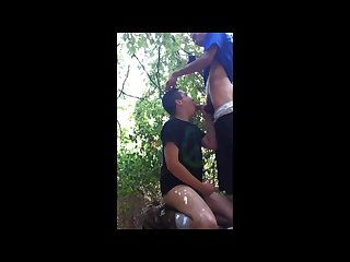 Awesome video str8 guy gets sucked in park