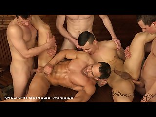 5 friends raw easter wank party
