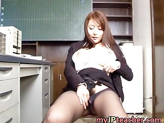 Mei sawai lovely japanese teacher part6