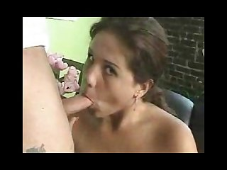 Larger girl loves to suck on a cock