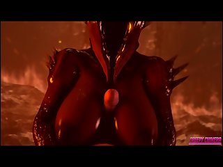 Agony demon welcomes you to hell sfm agony r34