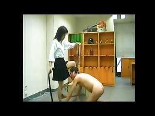 Old cinese femdom spanking slapping pissing strapon worshipping