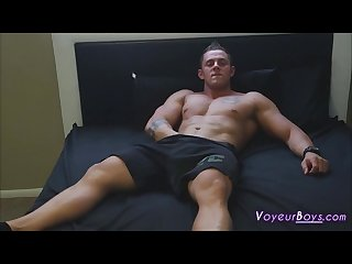 Johnny cox solo jerk off cum