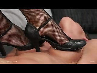 Mistress extreme trample slave girl