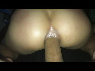 Asian girlfriend first time anal