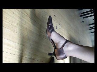 Pieds odorant de Caroline Smelling feet