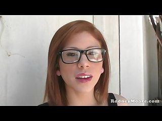 Brooklyn lee teen redhead hairy pussy hardcore pov