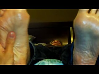 Mature feet tickling size 11
