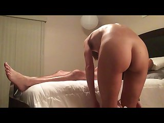 Young amateur milf blowing fucking creampie