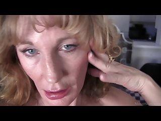 Skinny sexy granny erotic video