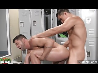 Handsome Gays dominic pacifico and topher dimaggio sucking their cocks