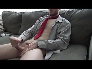 Johnnyizfine uses a tenga egg and cums hard