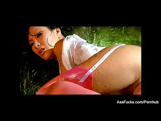 Erotic fucking with a soaking wet asa akira