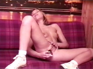 Anna marek blonde teen from poland dildo
