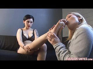 Bare feet worship lesbian foot fetish footdomunited