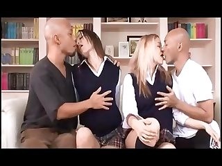 Amwf holly Morgan Amber rayne interracial with asian men