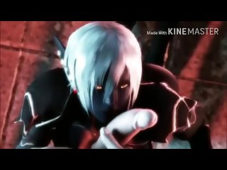 Blue elf 3d amazing Anime extended version
