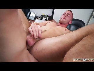 Nude straight dude gay keeping the boss happy
