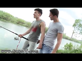 Hot army gay in porn fishing for ass to fuck